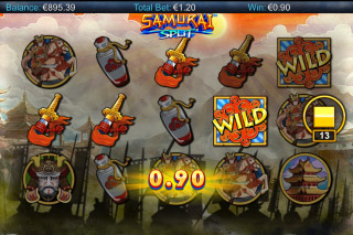 Samurai Split Mobile Slot Machine