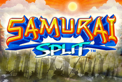 Samurai Split Mobile Slot Logo