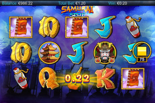 Samurai Split Mobile Slot Game