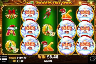 Santa Slot Free Spins