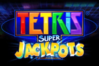 Tetris Super Jackpots Mobile Slot Logo