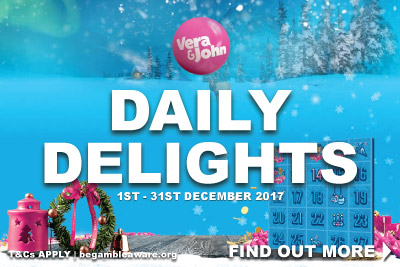 Open You Vera John Casino Daily Delights Every Day In December 2017