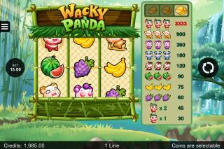 Wacky Panda Mobile Slot Machine