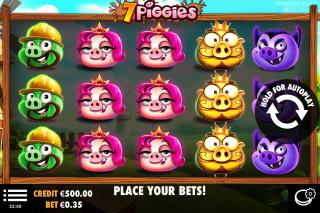 7 Piggies Mobile Slot Machine