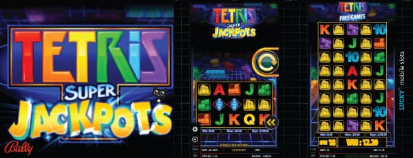 Bally Tetris Super Jackpots Slot Machine