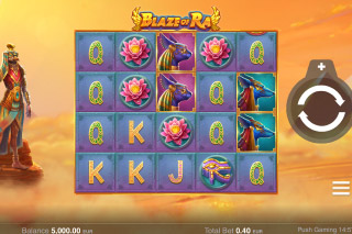 Blaze of Ra Mobile Slot Machine