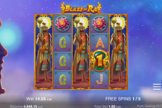 Blaze Of Ra Slot Free Spins