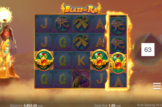 Blaze Of Ra Slot Scatters