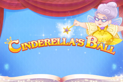 Cinderellas Ball Mobile Slot Logo