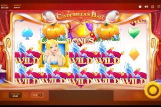 Cinderellas Ball Mobile Slot Wilds Win