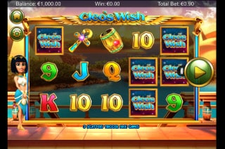 Cleo's Wish Mobile Slot Machine