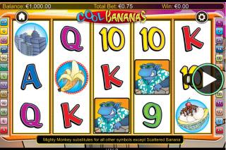 Cool Bananas Mobile Slot Machine