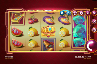 Deco Diamonds Mobile Slot Machine