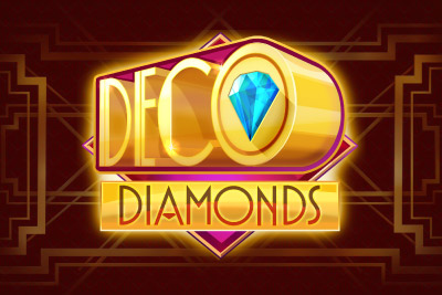 Deco Diamonds Mobile Slot Logo