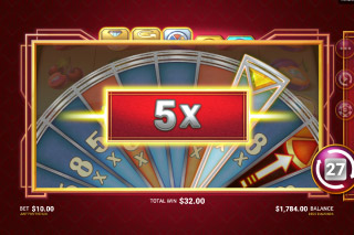 Deco Diamonds Slot Wheel Of Fortune Multipliers