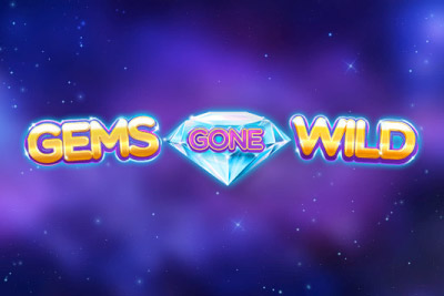 Gems Gone Wild Mobile Slot Logo