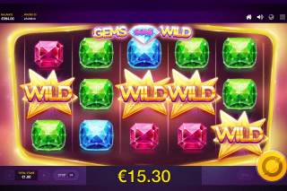 Gems Gone Wild Slot Wilds Win