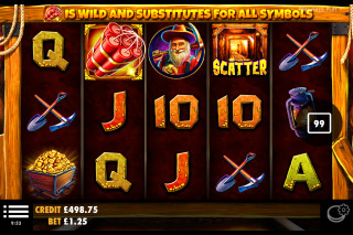 Gold Rush Mobile Slot Machine