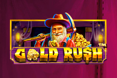 Gold Rush Mobile Slot Logo