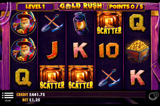 Gold Rush Slot With Scatters