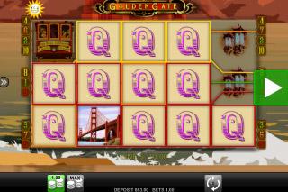 Golden Gate Mobile Slot Big Win