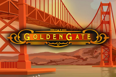 Golden Gate Mobile Slot Logo