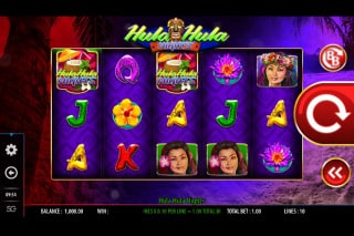Hula Hula Nights Mobile Slot Machine