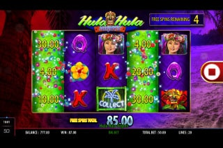 Hula Hula Nights Slot Free Spins