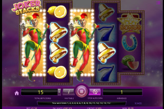 iSoftbet Joker Stacks Slot With Wild Reels