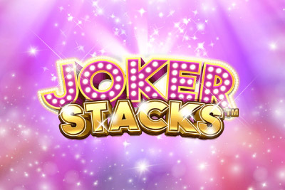 Joker Stacks Mobile Slot Logo