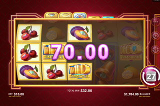 Just For The Win Deco Diamonds Slot Win