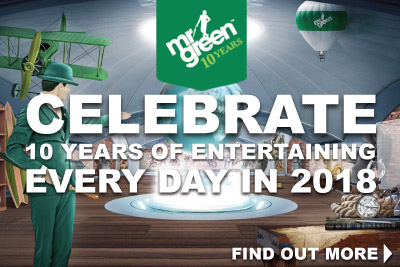 Get Daily Mr Green Bonuses Every Day In 2018