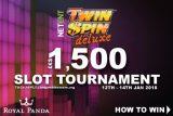NetEnt Twin Spin Deluxe Slot Tournament At Royal Panda Casino