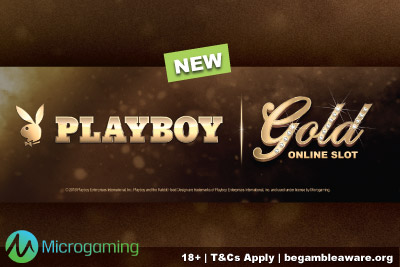 New Microgaming Playboy Gold Mobile Slot Coming Soon