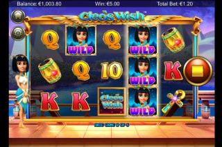 NextGen Cleo's Wish Mobile Slot Game