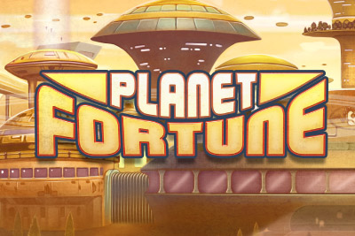Planet Fortune Mobile Slot Logo