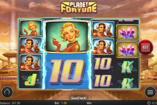 Planet Fortune Slot Mega Symbols