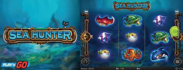 Play'n GO Sea Hunter Slot With 3 Reels