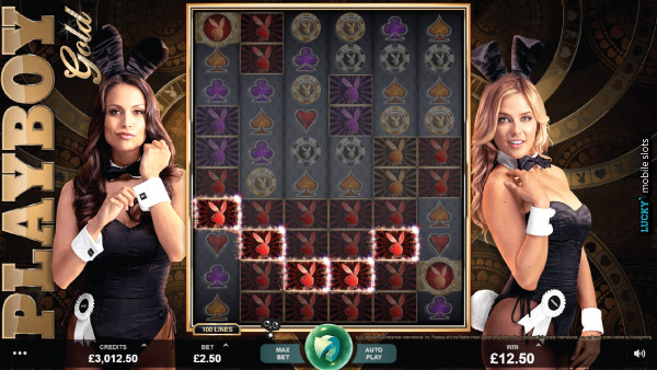 Microgaming Playboy Gold Slot Machine With Playmates