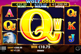 Pragmatic Play Wolf Gold Slot Big Win