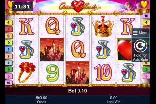 Queen of Hearts Deluxe Mobile Slot Machine