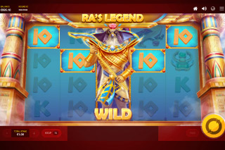 Ra's Legend Slot Wilds Feature