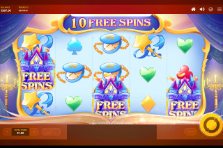Red Tiger Cinderellas Ball Slot With Free Spins