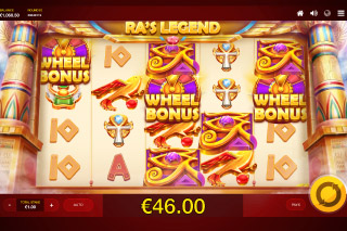 Red Tiger Ra's Legend Slot Bonus