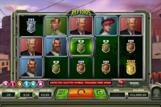 Reptoids Mobile Slot Machine