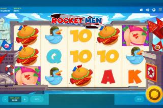 Rocket Men Mobile Slot Machine