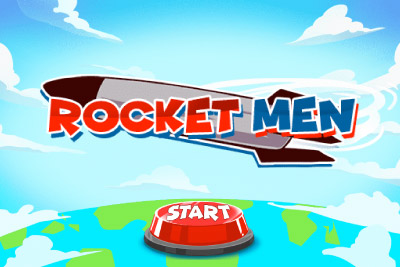 Rocket Men Mobile Slot Logo