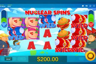 Rocket Men Slot Nuclear Spins