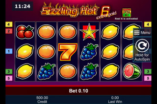 Sizzling Hot 6 Extra Gold Mobile Slot Machine