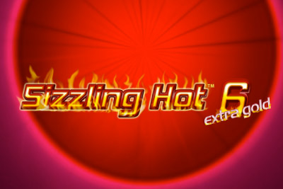 Sizzling Hot 6 Extra Gold Mobile Slot Logo
